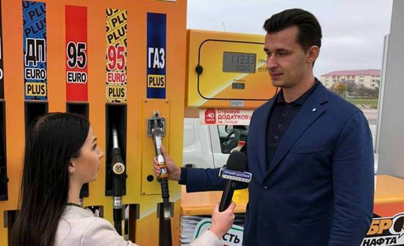 Автозаправна мережа БРСМ-Нафта публічно демонструє принцип чесності перед водіями